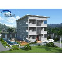 Buy SOHO Light Steel Frame Structure Prefab Apartment Buildings for rent for sale at wholesale prices