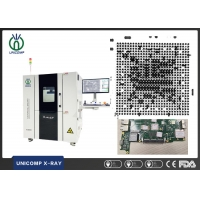 Quality Unicomp  AX8500 X-ray inspection machine for SMT / EMS BGA LED CSP QFN soldering void measurement for sale