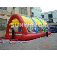 Colorful 18 Oz PVC Inflatable Tent For Advertising With Logo Printed