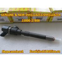 Quality Bosch Original Common Rail Injector 0445110253 0445110254 for for HYUNDAI 33800-27800 for sale