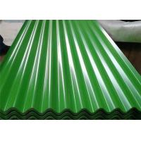 Quality Green Moss Green Corrugated Steel Sheets SGCC For Roofing PPGI PPGL for sale