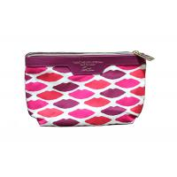Quality Canvas Cotton Girls Toiletry Bag / Stylish Personalized Toiletry Bag For Women for sale