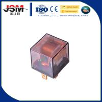 Quality waterproof relay 12v 4pin 80A With LED red copper terminal transparent auto relay high quality normally open car relay for sale