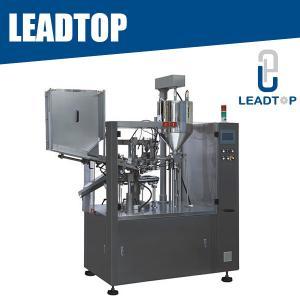 Quality Semi Automatic Plastic Soft Tube Filling Machine Ultrasonic Sealing Cosmetic Tube Machine for sale
