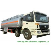 Quality FOTON 6x2 AUMAN 25000L Oil Tanker Truck With Stainless Steel Fule Tank for sale