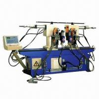Quality Double-head Hydraulic Pipe Bending Machine with Manual and Auto-operated Modes for sale