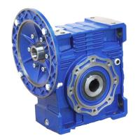 Quality NMRV25/30 Ratio 100/150/250 harvester gearbox reduction gear box for sale