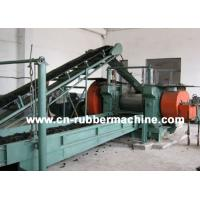 Buy cheap Two Roll Rubber Cracker Mill, Rubber Cracker Mill, Tire Recycling Machine (XKP from wholesalers