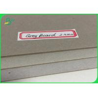 Compressed Wrapping Grey Board Paper 2.4mm Thickness Book Cover Sheets