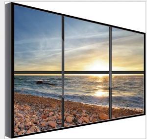 China RGB Vertical Stripe HDMI Video Wall Digital Signage 2 x 2 led video walls on sale