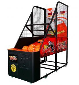 Quality Entertainment Arcade Basketball Game Machine , Mini Basketball Arcade Metal Frame for sale
