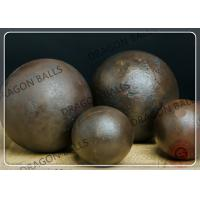 Quality 50mm Air Hammer Forged Grinding Balls , Forging Steel Balls For Ball Mill for sale