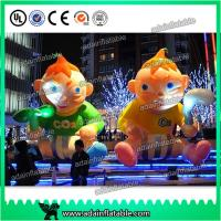 Quality 3m Customized Advertising Inflatable Human Cartoon Kids Replica Baby Inflatable for sale