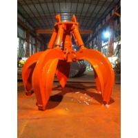 Buy cheap Swivel Orange Peel Grapple , Digger Hydraulic Rotating Grab Robust Structure from wholesalers