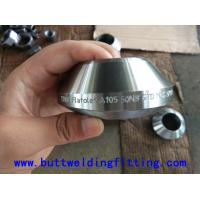 China Butt Welded Pipe Fittings Stainless Steel Inlet / Outlet Fittings Thread Weldolet 1/2-20 inch on sale
