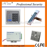 Quality F004 access controller with exit button power supply and electric lock without software single access control sets for sale