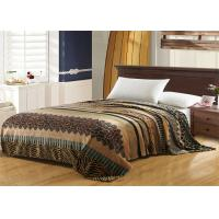 Leopard Pattern Flannel Fleece Blanket Machine Washing For Home And Hotel