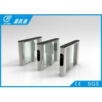 Goverment Buliding Pedestrian Access Gate , Covenient Optical Barrier Turnstiles
