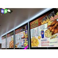 Quality Customized Single Side A3 LED Lightbox / Led Panel Light Box For Menu Sign for sale