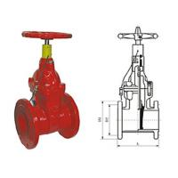 Quality Special fire signal resilient seated gate butterfly valve pressure 1.0 - 2.5MPa for sale