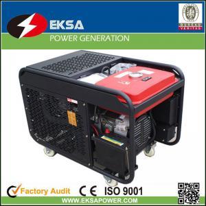 Quality 12KVA Changchai changfa farm Belt Driven Turbine Diesel engine generator sets good quality lower fuel consumption for sale