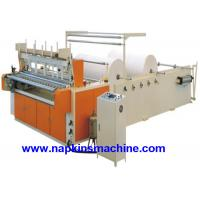 Buy Coloured Toilet Paper Making Machine , Toilet Paper Converting Machine at wholesale prices