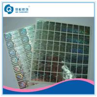 Quality Custom 2D / 3D Holographic Sticker , Die Cut Self Adhesive Hologram Sticker for sale