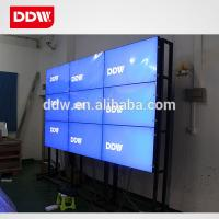 Quality Samsung Seamless LCD video wall with 18mm Narrow bezel LED backlight 1920x1080 for sale