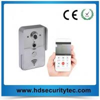 Quality low price wifi doorbell P2P E-cloud doorbell support PIR and Tample alarm up to 720p wireless doorbell for sale