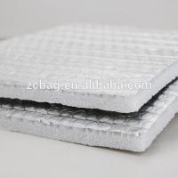 China Anti Glare XPE Foam Foil Bubble xpe wall roof heat isolation material Wrap Insulation High Efficiency Performance wholesale