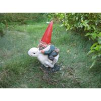 Quality 2011 new hot polyresin garden gnome statue for sale