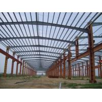 Quality Painting Structural Building Steel Frame For Workshop Storage / Industrial Metal Buildings for sale