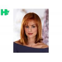 Quality Generous And Decent Natural Straight Hair Synthetic Fiber Wigs For Women for sale