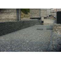 Quality Zn Al 10% Welded Gabion Box Galfan Coated Wire For Flood Protection for sale