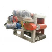 Quality Heavy Duty Mobile Veneer Wood Crusher Machine 1400*12000mm Discharge Conveying for sale