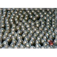 Quality 30mm 50mm Cast Forged Steel Grinding Balls , Long Life Grinding Media Ball for sale