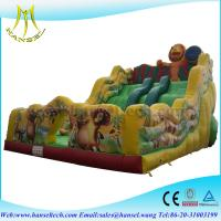 China Hansel inflatable water sports games,inflatable pool toys,inflatable slides for sale on sale