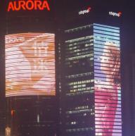 China LED full color digital tube on sale