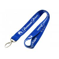 Quality Pantone Colors Name Tag Lanyards , Personalized Neck Lanyards With Bulldog Chip for sale