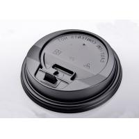 Quality Heavy Duty Eco friendly Paper Coffee Cups Lids For Hot / Cold Dirnk No Smell for sale