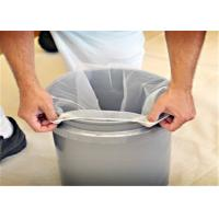 Quality Elasticated Nylon Paint Filter Bag For Easy Access To 5 / 2 And 1 Gallon Buckets for sale