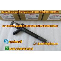 Quality Denso Common Rail Injector 095000-9780/095000-7711/9709500-978 for TOYOTA 23670-51031/ 236 for sale