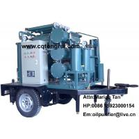 Mobile Multi-functional transformer oil Purifier machine to remove deep oxide free carbon