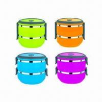 Quality New design airtight food containers/lunch boxes, available in various colors for sale