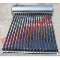 Buy Automatic Solar Water Heating System , Black Pipe Solar Water Heater Multi Purpose at wholesale prices