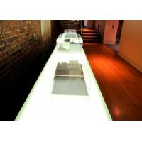 Buy Backlight Decoration Jade Stone Countertops Bath Eased / Ogee Edge at wholesale prices