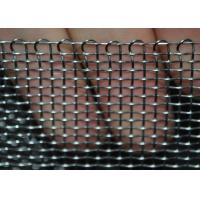 Quality Heavy Duty Stainless Steel Wire Mesh Woven Crimped For Filtration , Stable Structure for sale