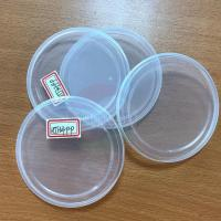 China 83mm 99mm Paper Cans Pet Cans Clear Plastic Lids for Canned Food on sale