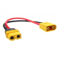 Quality 14AWG Transmission XT30 XT60 RC Lipo Battery Cable Harness for sale