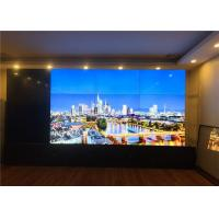 China Ultra Slim HD 4K LCD Video Wall Samsung Panel Support Remote Control on sale